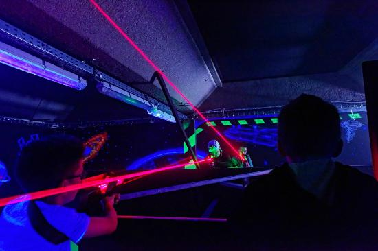 laser game indoor